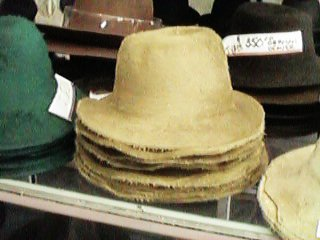 The hat is then blocked and sized using a turn-of-the-century machine so  rare that fewer than ten exist in the world! a9c0f096928